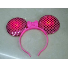 Brinquedos de festa promocional levou headband