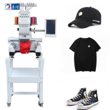 cheap cost single head same as brother home cap T-shirt computerized embroidery machine