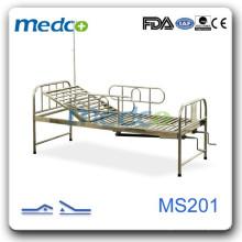 Krankenhaus Zimmer zwei Kurbeln Bett MS201