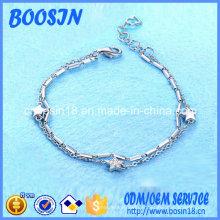 Bracelet chaîne étoile exquis pas cher