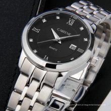 2017 marca de moda casual 316l aço inoxidável relógios unissex relógio casal relógios