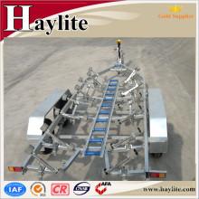 Shandong de alta calidad galvanizado rc o jet ski o remolque inflable del barco