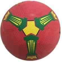 Tamaño 3 de goma de fútbol de colores