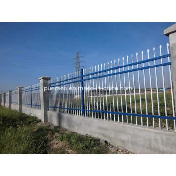 Clôture de jardin en acier galvanisé / clôture de garnison bon marché