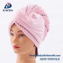Long life sanding hair wrap towel