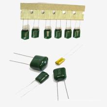 2016 venda quente de poliéster capacitor de filme Cl11tmcf02-1 2UF