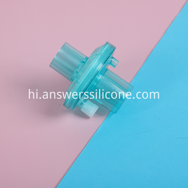 Anesthesia loop tube filter