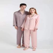 in stock custom  luxury branded sexy mulbery two piece 100%silk  ladies pajama pajamas sleepwear set