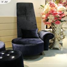 Shiny italienischen Samt Stoff für Sofa