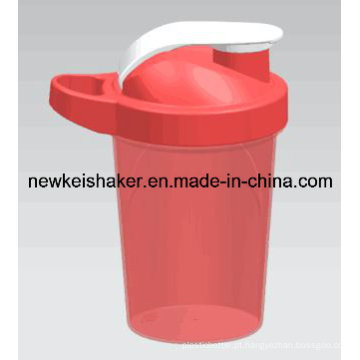 Agitador de Proteína Matte Color 500ml com Ss Mixer