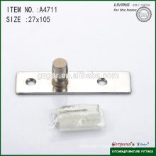 two-screw glass door hardware central axis