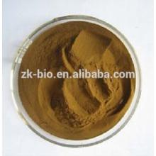 Extracto de hoja de corteza de Eucommia ulmoides natural puro orgánico