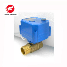 110V 230V AC85-265V latón ss304 DN20 DN15 CWX-25S control de flujo de agua válvula eléctrica