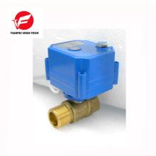 110V 230V AC85-265V latão ss304 DN20 DN15 CWX-25S válvula de controle de fluxo de água