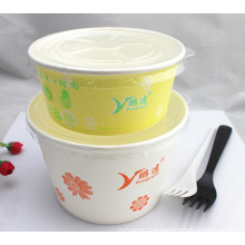 Cheap Eco-Friendly Paper Insulated Disposable Food Container