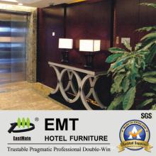 Hot Hotel Konsolen Design Neue Massivholz verzierte Tisch (EMT-CA33)