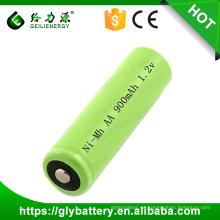 Linterna recargable 900mAh NIMH AA 1.2V batería