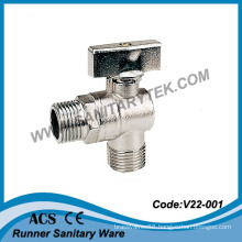 Chrome-Plated Angle Ball Valve (V22-001)