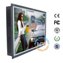 Cadre ouvert 20 pouces HDMI moniteur LCD avec port USB à écran tactile et RS232 en option