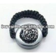 crystal ball shamballa rings