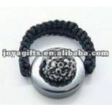 Кольца из хрустального шамбала
