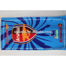 Promotional Printed microfiber football team beach towels