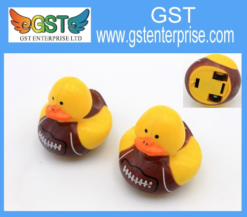 Soccer Imprinted Pull Back Duck Racers