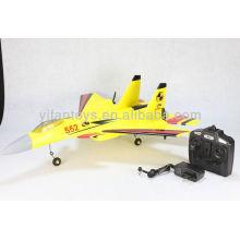 Nuevo producto FX-861 2CH Combatiente estupendo SU-33 2.4G RC Aeroplano Aeroplano plano del avión del flotador para la venta