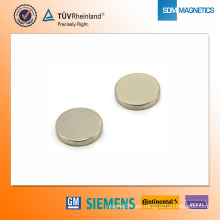 Imán de neodimio N42 D24 * 4 mm