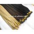 Hot Selling Last 12 Months Full Cuticle 7a gradei tip 100% virgin indian remy hair extensions