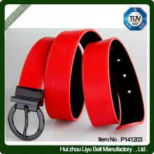 Boucle de ceinture réversible en cuir PU en uniforme