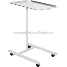Medical Stainless Steel Mayo table epoxy powder coated