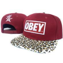 Estampado de leopardo por mayor 2013 Snapback obedecer hombres Hip Pop béisbol tapa sombrero de Obey Snapback Unisex