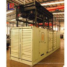 Centrale combinée à chaleur et puissance à 1000kw