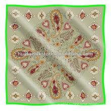 Турецкий платок с шарфом / трафаретной печатью Пейсли