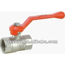 BSP brass ball valves with chrome plated Lever handle