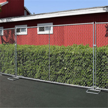 temporary movable residential housing  fence