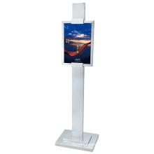 Portable Titanium Stand Sign Post (DV29)