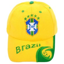 2014 Brazil World Cup Fans Cap,6 Panel baseball Cap