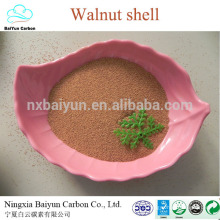 polishing dry walnut shell granule 60# walnut shell abrasive