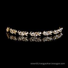 Handmade crystal bridal headbands wedding bride hair accessories rhinestone