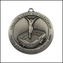 Medalha alta do metal da quilidade pelo niquelado chapeado (GZHY-JZ-012)