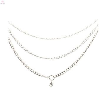 2015 из нержавеющей стали мода золото заявление ожерелье модели