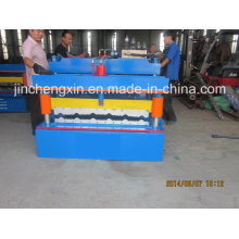 Maquinaria de fabricación de láminas de techo de aluminio en relieve