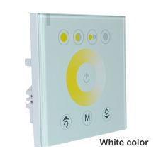 Color Temperature LED Touch Panel Controller led dimmer for DC12V LED strip