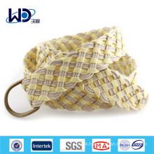 Women Stylish D Ring Plaited Belt