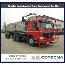 Caminhão de transporte de madeira registrando Sinotruk