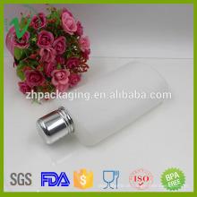 Screw Cap Sealing HDPE descartável oval garrafa de vinho de plástico vazio de 10 oz