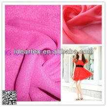 Seda de imitación D 50 Vestido de gasa para el verano