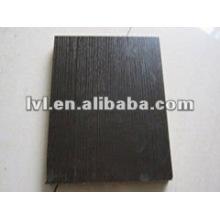 Panel de aglomerado de melamina negro 1220 * 2440